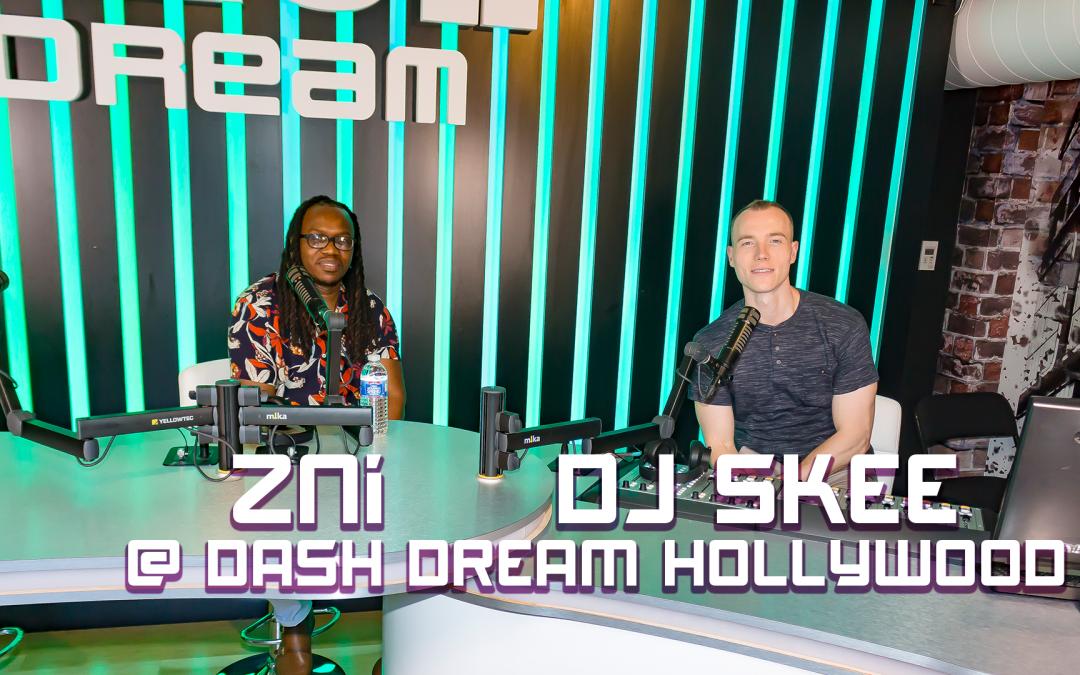 WATCH: ZNi & DJ Skee DASH Pop X Radio Interview @ The DREAM Studio